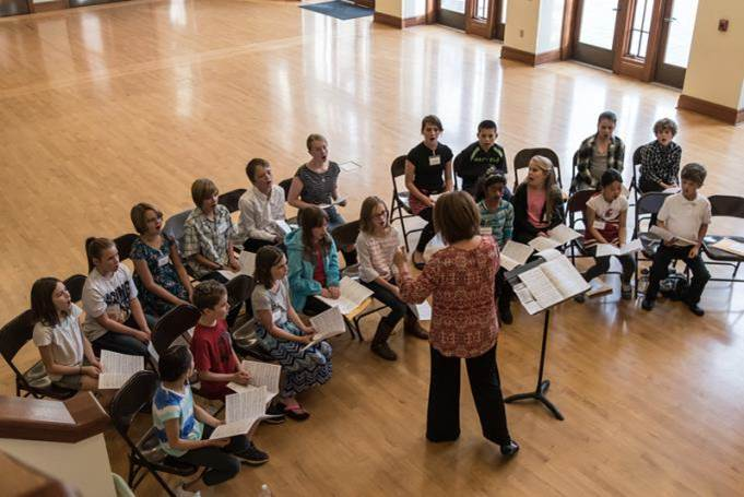 Palouse Choral Society children's choir