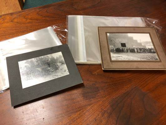 Troy Historical Society archival supplies